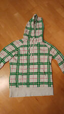 Damen/ Kinder Pullover Billabong, Farbe Weiß/Grün/Pink, Größe 38