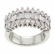 Diamond Cocktail White Gold 14k Fine Rings
