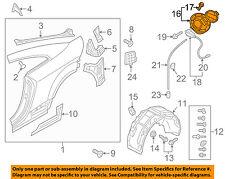 AUDI OEM 16-17 TT Quattro Fuel Door-Lock Actuator 8S0809857E3Q7