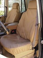 Land Rover 1999~2004 Discovery Front Waterproof Seat Covers Sand Bahama BEIGE