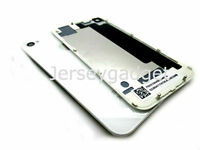 Replacement Rear Glass Back Cover Battery Door For iphone 4s A1387 White