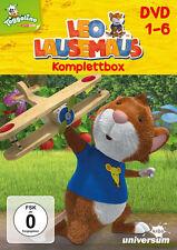 Leo Lausemaus Komplettbox Staffel 1 - DVD 1-6 - 6 DVD Box