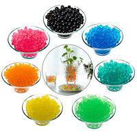 Water Aqua Soil Crystal Bio Gel Balls Beads Decoration Vase Filler Wedding Party