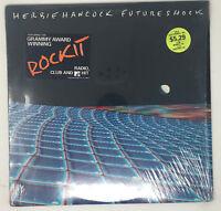 Herbie Hancock Future Shock LP Vinyl Record Rare MTV Rockit Hype Sticker 1983