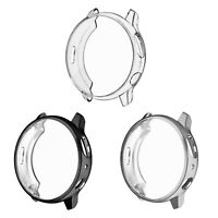 3Pack Screen Protector Bumper Shell Cover for Samsung Galaxy Watch Active 2 40mm