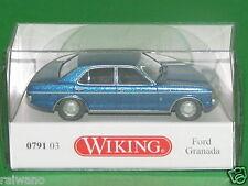 1:87 Wiking 079103 Ford Granada - blau-metallic Blitzversand per DHL-Paket