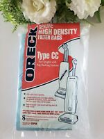 Oreck Genuine High Density Filter Bags 8 Pack Type CC for Uprights CCPK8