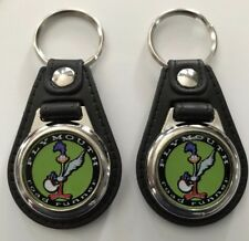 PLYMOUTH ROAD RUNNER KEYCHAIN SET 2 PACK GREEN