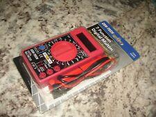 Cen Tech 7 Function Digital Multimeter Item 90899 New Sealed