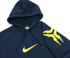 Nike Kobe Bryant Mamba 2006 Navy Blue Therma-Fit Fleece Hoodie Large Mens