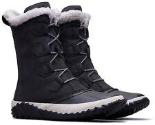 Sorel Women's Out 'N About Plus Tall Winter Boots Black Noir Size 10 US (M)