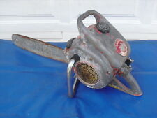 """COOL 1950s Mcculloch Model #325 22"""" Chainsaw DONT MISS $39.99"""