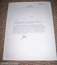 John Cheever Signed Letter On His Personal Letterhead  Plus Unused 1961 PostCard