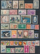 France **70 DIFFERENT MH & USED (1920's - 70's)**; BEAUTIFUL ISSUES CV $50+