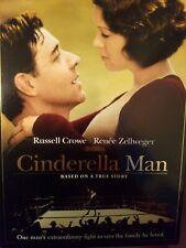 Cinderella Man (DVD + slipcover, 2005, Full Frame)