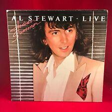 AL STEWART Live Indian Summer 1981 Vinyl LP EXCELLENT CONDITION
