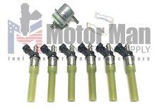 Motor Man | 4.3L Vortec Spider Tune Up Kit | New Injectors & Fuel Regulator