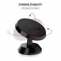 Universal 360 Degree Rotatable Magnetic Car Phone Holder Stand Mount Accessory