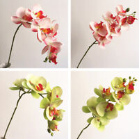 Artificial Butterfly Orchid 7 Heads Fake Flower Wedding Party Home Decor Well