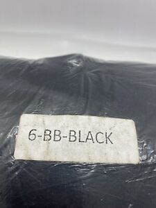 Cozy Sack Bean Bag COVER ONLY 6FT Black