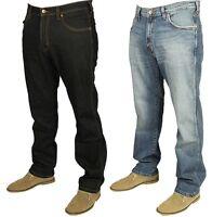 Mens Wrangler Arizona Denim Stretch Jeans Water Resistant Classic Straight Leg