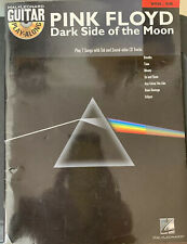 Pink Floyd Dark Side of the Moon Guitar Play-Along Vol 68 Tab Book W/ Dvd Used