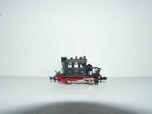 train électrique N minitrix ref 12212 locomotive GLASKASTEN  piece  bricoleur