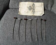 Antique Vintage Hat Pins x6 Collection / Job Lot