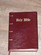 HOLY BIBLE NEW AMERICAN BIBLE GIANT PRINT CATHOLIC BIBLE PRESS GENUINE LEATHER