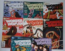 Wonder Woman #1 2 3 4 5 6 7 8 New 52 DC Comics Lot Brian Azzarello NM-