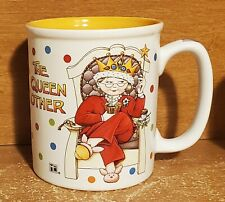 "Mary Engelbreit The Queen Mother Mug, 4"", Excellent"