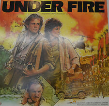 "OST - SOUNDTRACK - UNDER FIRE - JERRY GOLDSMITH  12"" LP (M82)"