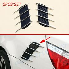 Chrome Car Accessories Door Side Body Grille Fender Air wing Vent Decorate Cover