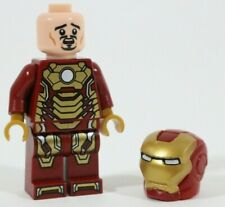 LEGO MARVEL IRON MAN MK42 MINIFIGURE 76006 SEAPORT BATTLE VGC