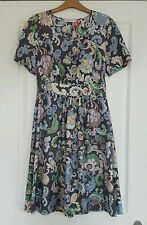 See by chloe floral printed silk dress uk8 new