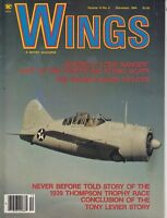 Wings Airplane Magazine Dec. 1984 - Boeing's Lone Ranger - WWII Planes +    /a1