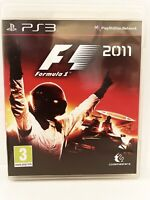 F1 2011 (Sony PlayStation 3, 2011) COMPLETE WITH MANUAL 💎💎FAST POSTAGE💎💎