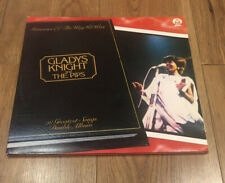"""GLADYS KNIGHT AND THE PIPS - MEMORIES OF THE WAY WE WERE - 12"""" VINYL LP (DOUBLE)"""
