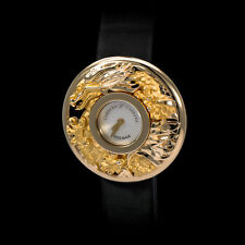 "Carrera Y Carrera 18K YG ""Reloj Joya"" Ladies Dragon Watch. Stunning MOP Dial Rar"