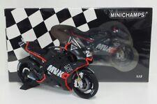 MINICHAMPS MAVERICK VIÑALES 1/12 YAMAHA M1 MOVISTAR MOTOGP VALENCIA TEST 2016