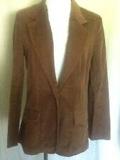 Vintage College Town Corduroy Brown Jacket With Union Label