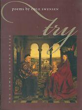 Try Poems by Cole Swensen poetry Ittérature anglaise english Envoi de l'auteur