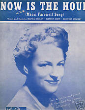 1946 - Gracie Fields - Now Is the Hour (Maori Farewell)