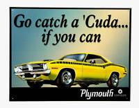 * Plymouth Barracuda Póster Musclecar V8 Us-Car Signo de *281