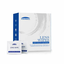 100 Ct Lens Cleaning Wipes For Eye Glasses Screen Optical Camera Phone Cleaner