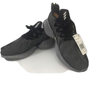 Adidas AlphaBounce Instinct BC0626 Men Gray/Black Running Shoes SZ 10 NWT NO Box
