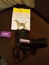 New listing PetLove Large black Adjustable Heavy Duty Padded Pet Harness
