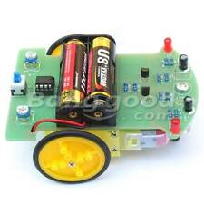 Tracking Robot Car Electronic DIY Kit With Reduction Motor