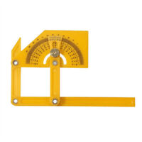 Angle Engineer Protractor Finder Measure Arm Ruler Gauge Tool Brass Fittings UK