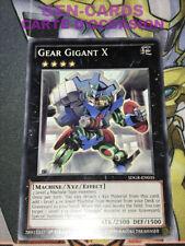 OCCASION Carte Yu Gi Oh GEAR GIGANT X SDGR-EN035 1ère édition ANGLAIS